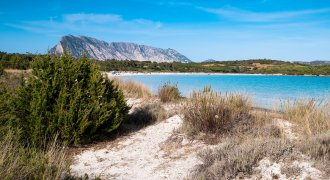 The beaches in the south of Olbia
